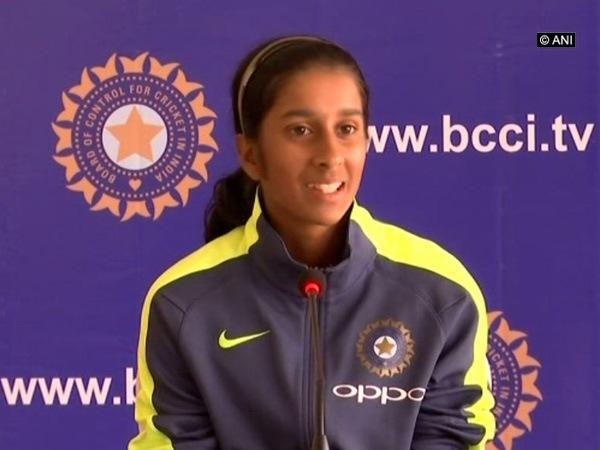 India's Jemimah Rodrigues