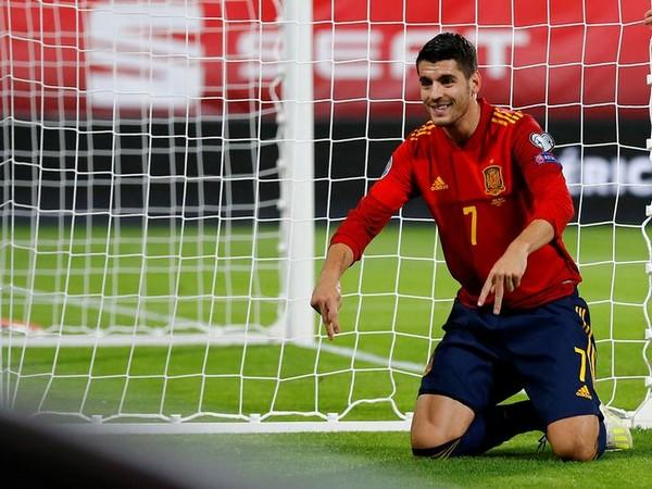 Spain's Alvaro Morata