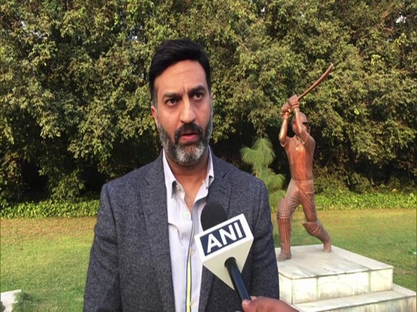 Paras Anand, Marketing Director of SG talking to ANI in Meerut. Photo/ANI