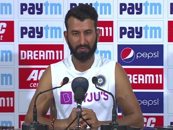 India batsman Cheteshwar Pujara