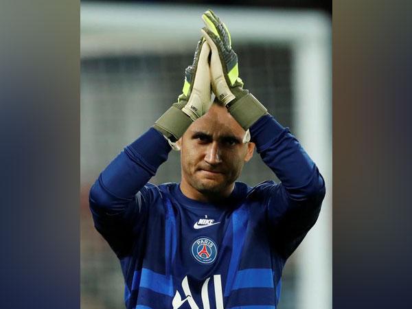Paris Saint-Germain (PSG) goalkeeper Keylor Navas