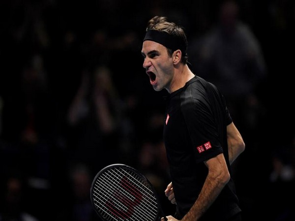 Swiss tennis player Roger Federer
