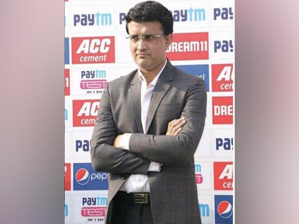 BCCI president Sourav Ganguly (Photo/ Sourav Ganguly Twitter)