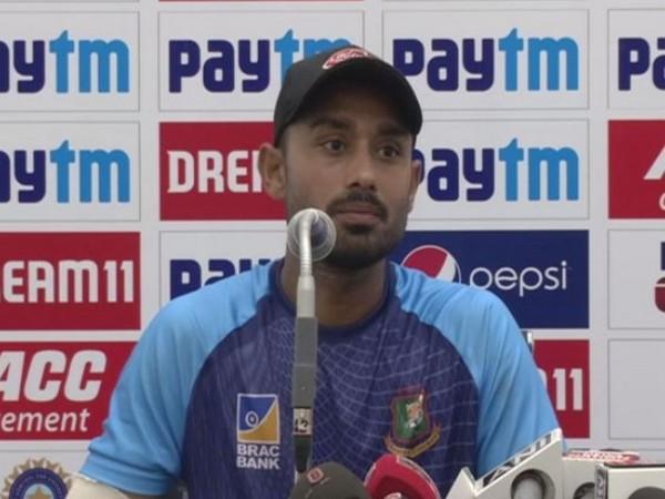 Bangladesh batsman Mohammad Mithun
