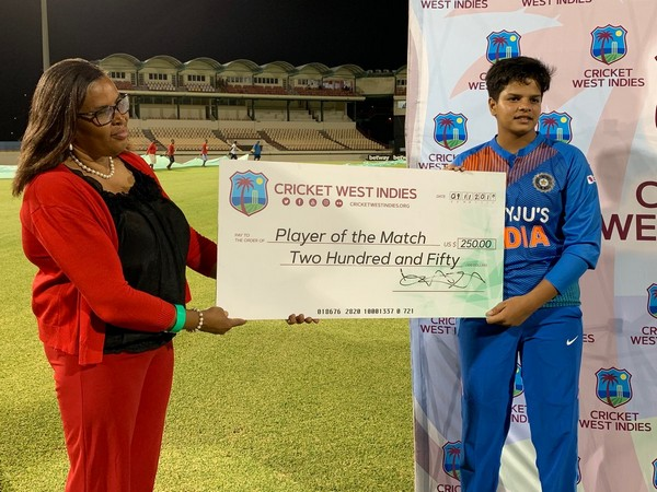 Indian women cricketer Shafali Verma (Picture: BCCI Women's Twitter)