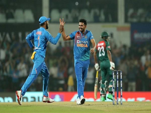 India pacer Deepak Chahar (Photo/ BCCI Twitter)