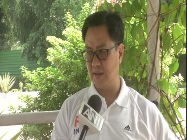 Union Sports and Youth Affairs Minister Kiren Rijiju (File photo)