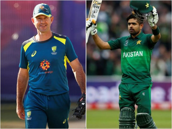 Ricky Ponting (L) and Babar Azam (R)