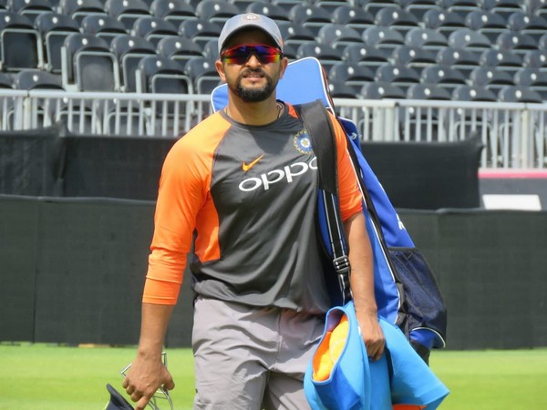 India batsman Suresh Raina