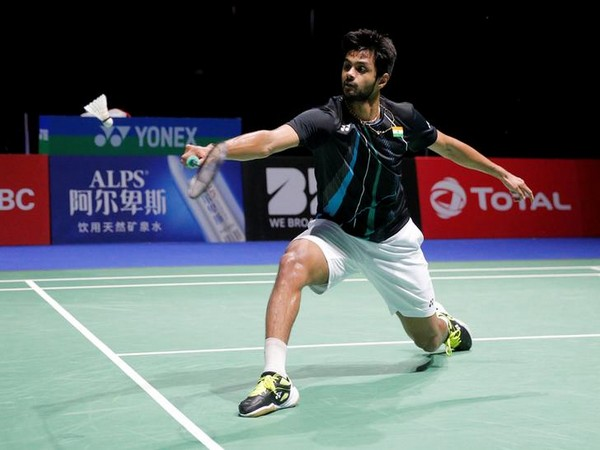 Indian shuttler Sai Praneeth