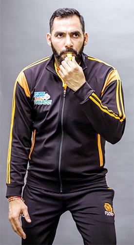Anup Kumar, Head Coach, Puneri Paltan