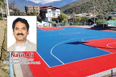 Nasir Ali, Founder & Director, Gallant Sports & Infra Pvt Ltd