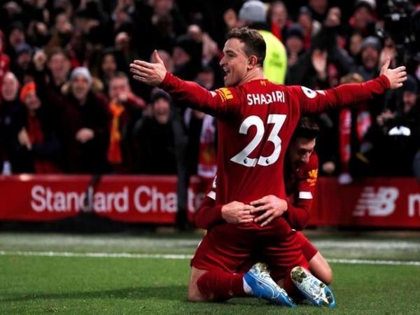 Liverpool's Xherdan Shaqiri
