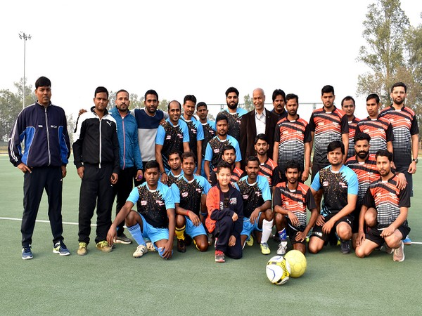 MCF organises interdepartmental football tournament
