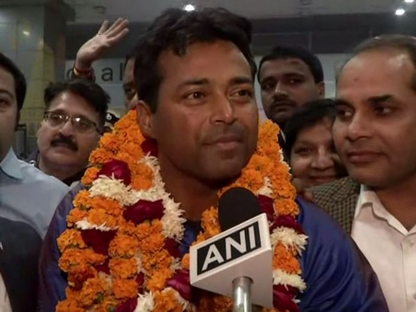 Indian tennis player Leander Paes