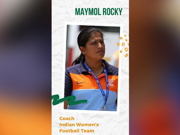 Head coach Maymol Rocky   Image: Maymol Rocky's Twitter