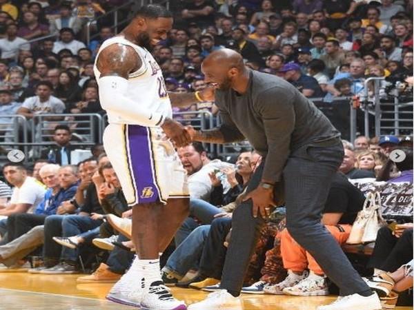 LeBron James with Kobe Bryant (Photo/ LeBron James Instagram)