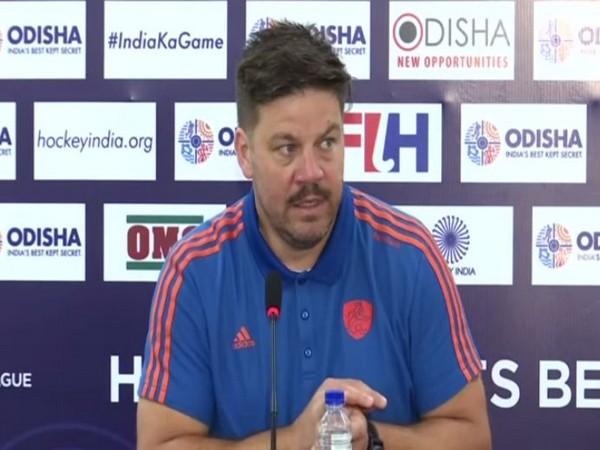 Netherlands Hockey team coach Maximiliano Caldas