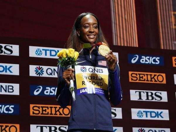 American athlete Dalilah Muhammad