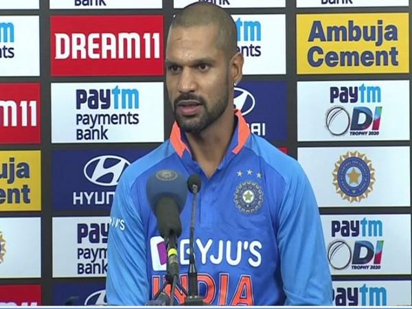 Indian cricketer Shikhar Dhawan