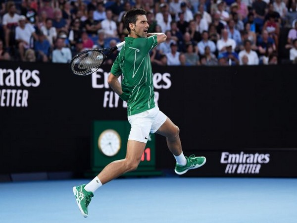 The Serbian tennis player Novak Djokovic (Photo/ Australian Open Twitter)