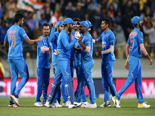 India team defeated New Zealand in fourth T20I (Image: ICC Twitter)