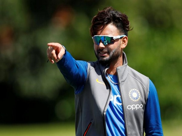 Indian cricketer Rishabh Pant