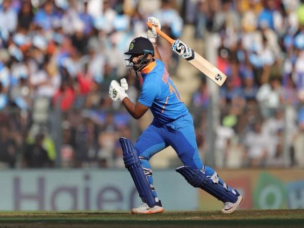 Wicket-keeper batsman Rishabh Pant (Photo/ ICC Twitter)