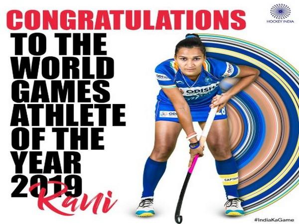 Indian hockey player Rani Rampal (Photo/ Hockey India Twitter)