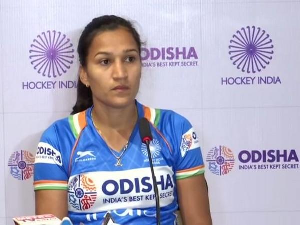 Indian hockey player Rani Rampal