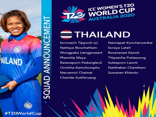 Thailand T20 World Cup squad (Photo/ T20 World Cup Twitter)