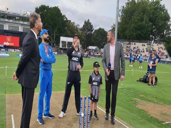 New Zealand won the toss and elected to bowl first. (Photo/BCCI Twitter)