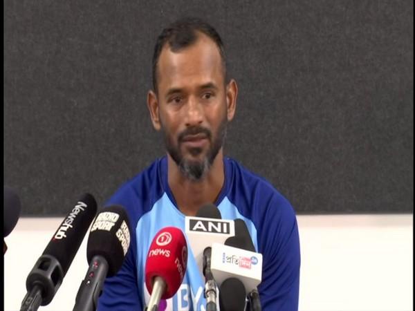 India's fielding coach R Sridhar