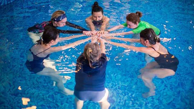 Aqua Aerobic Postnatal exercise
