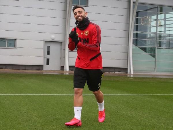 Manchester United's Bruno Fernandes (Photo/ Manchester United Twitter)