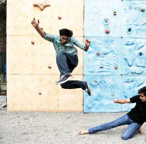 Delhi climbing