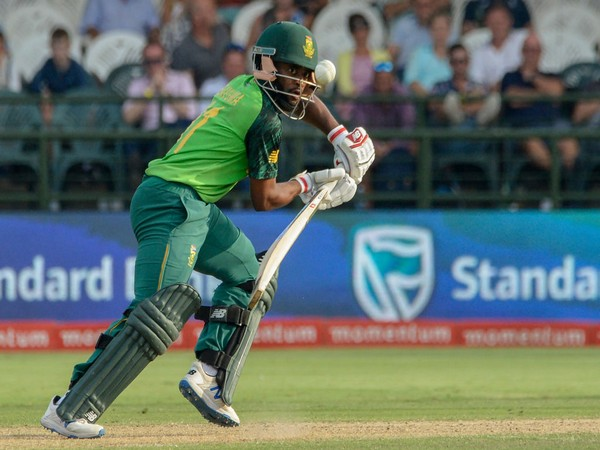 South Africa's Temba Bavuma in action against England in first ODI (Photo/ ICC Twitter)