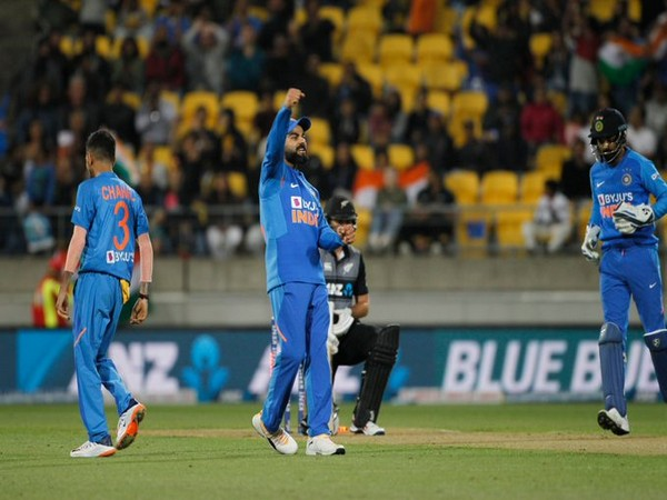 Virat Kohli reacts after the fourth T20I goes into Super Over. (Photo/ BCCI Twitter)