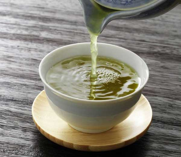 Green Tea in spring