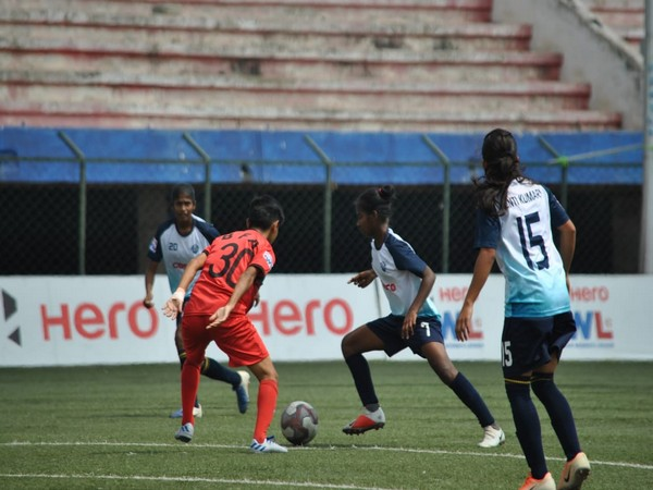 Sethu FC sail through to the semifinals with a convincing 6-0 win over Baroda Football Academy. (Photo/Indian Football Team Twitter)