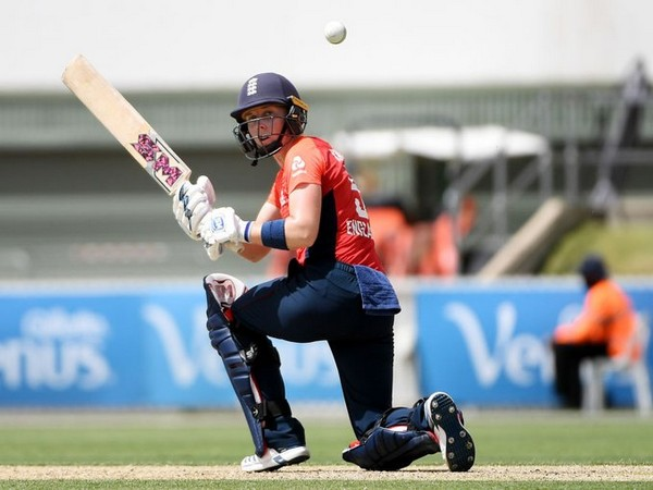 England skipper Heather Knight was awarded player of the match for scoring 78 runs. (Photo/ICC Twitter)