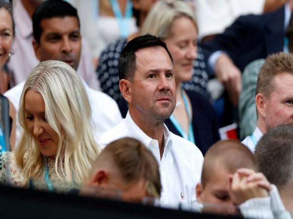Former Australian cricketer Ricky Ponting (Photo/ Australian Open Twitter)
