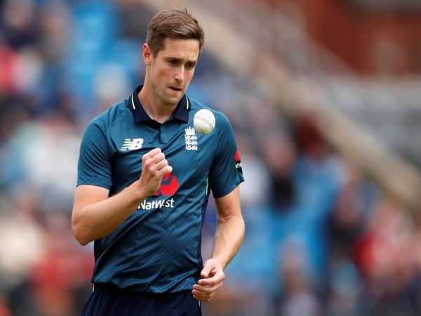 England fast bowler Chris Woakes