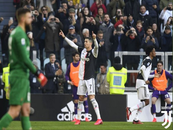 Juventus' Cristiano Ronaldo (Photo/ Juventus Twitter)