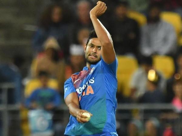 Indian pacer Shivam Dube (Photo/ ICC Twitter)