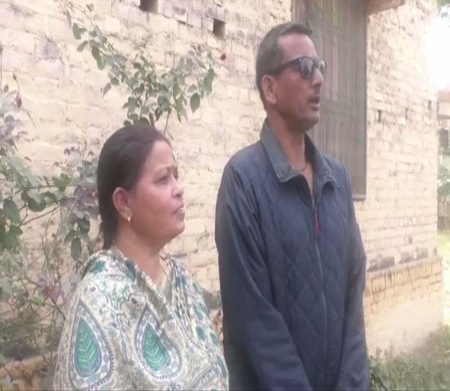 Yashasvi Jaiswal's parents