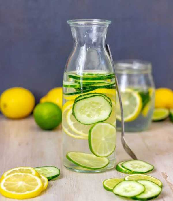 Lime water in Spring
