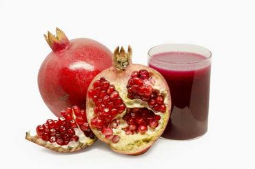 Pomegranates fruits for weight Loss