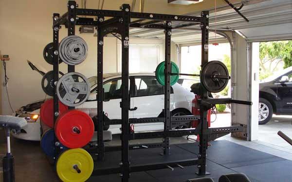 Garage Into a Home Gym