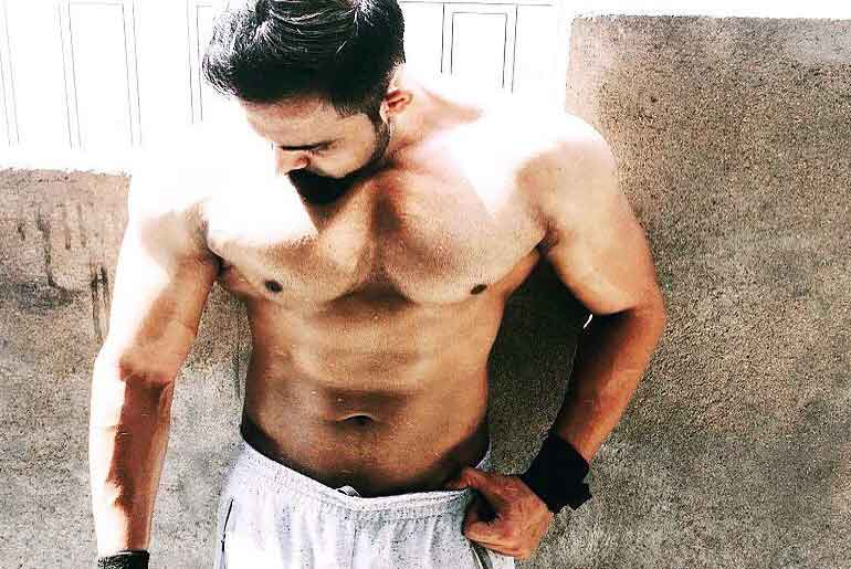 Supplement Free Body Transformation Himanshu Singh Fitness Trainer